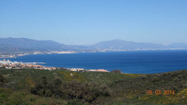 An extremely spacious townhouse close to the Sotogrande port with the probably best sea views of the,Spain