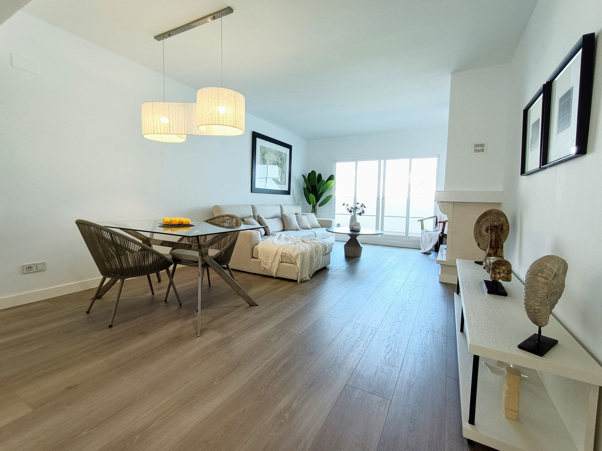 Bright and sunny renovated second floor Apartment with lovely views to landscaped gardens, swimming ,Spain