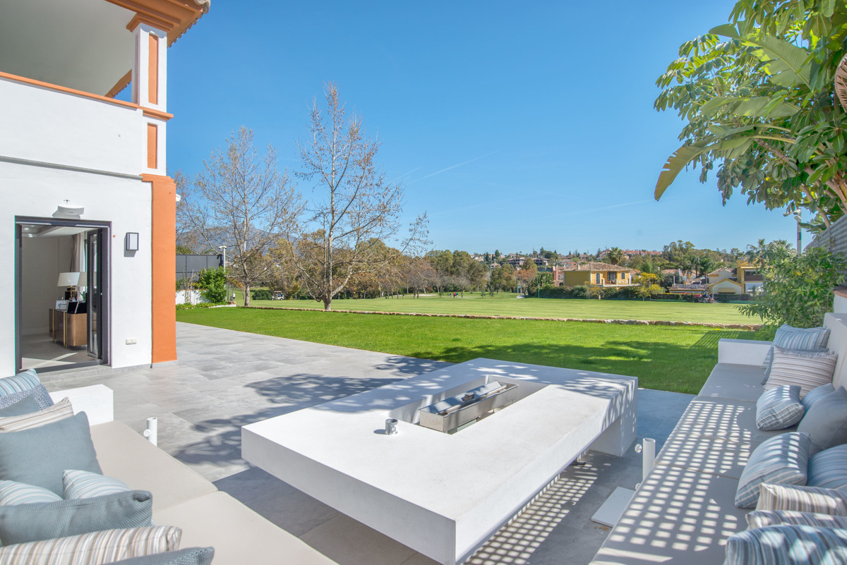 Impressive Front Line Golf Villa in Guadalmina. Completely renovated this year with excellent taste , Spain