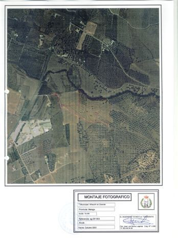 Nice flat plot of rustic land close to Alhaurin El Grande. The plot is fenced and has water and elec,Spain