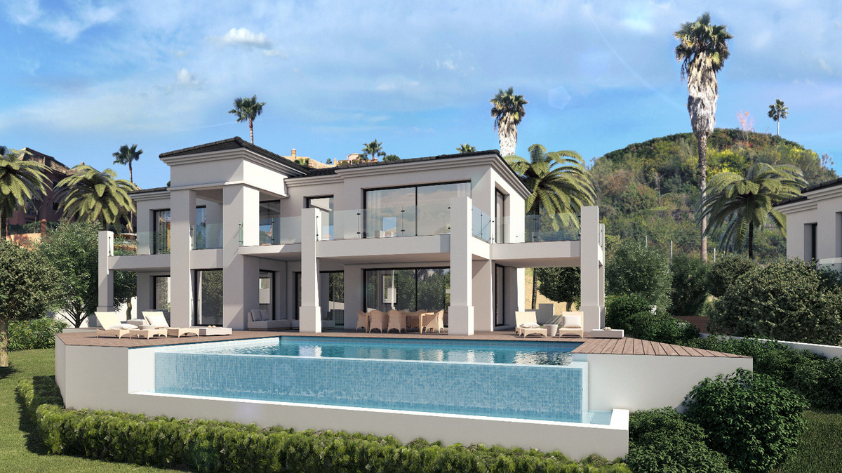 This brand new contemporary villa is just on the market and will not be available for long. In a pri, Spain