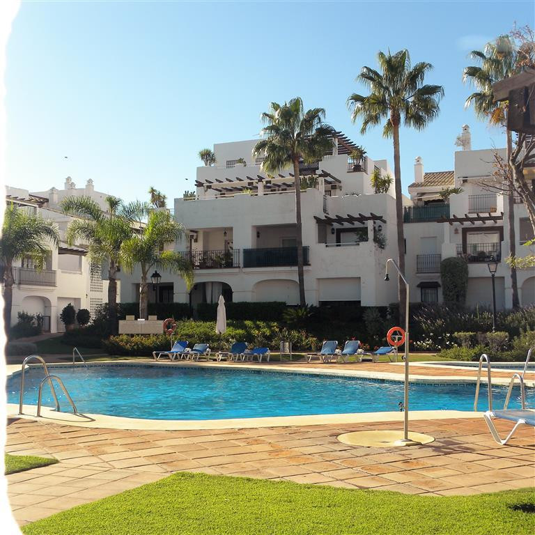This exceptional 2 bedroom 2.5 bathroom south facing ground floor apartment is for sale in the popul, Spain