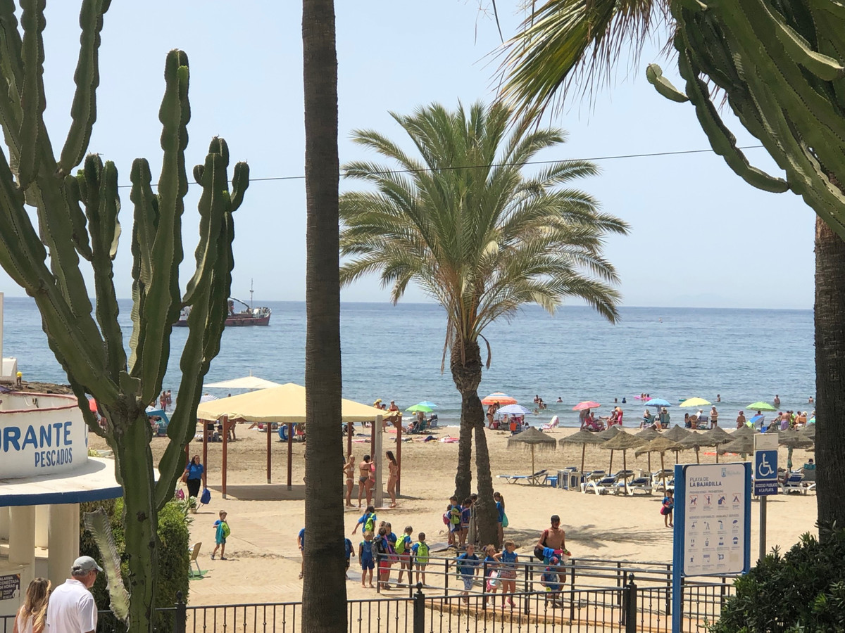 A fantastic location beachside of Marbella next to the busy Quiron Hospital and opposite the sandy b, Spain