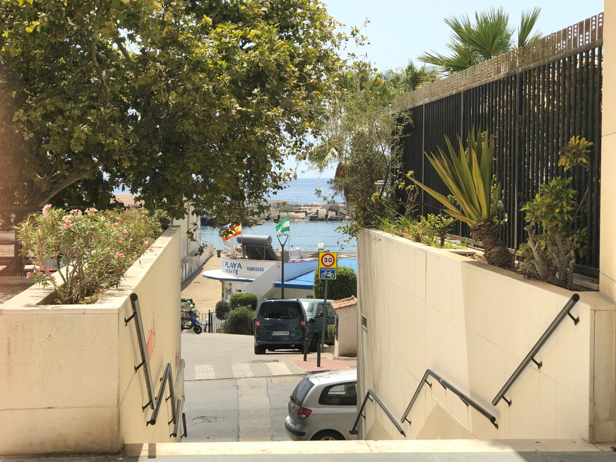 A substantial sized warehouse or storage area located beachside of Marbella in the vicinity of Quiro, Spain