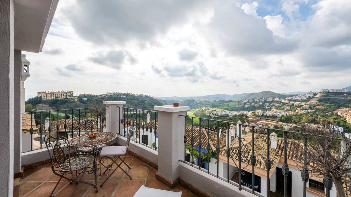 Rarely found in this beautiful and most sought after urbanization is the quaint duplex apartment fin, Spain