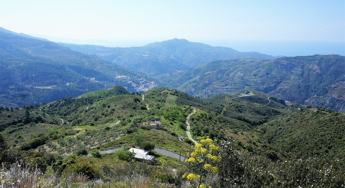 Renovation project with sea view near Almunecar.  Nice high located plot on a strategic location nea,Spain