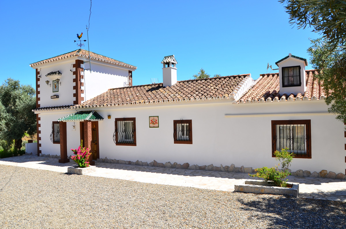 Beautiful house just 1 km from the Andalusian village of El Chorro.  This house is situated on a plo,Spain