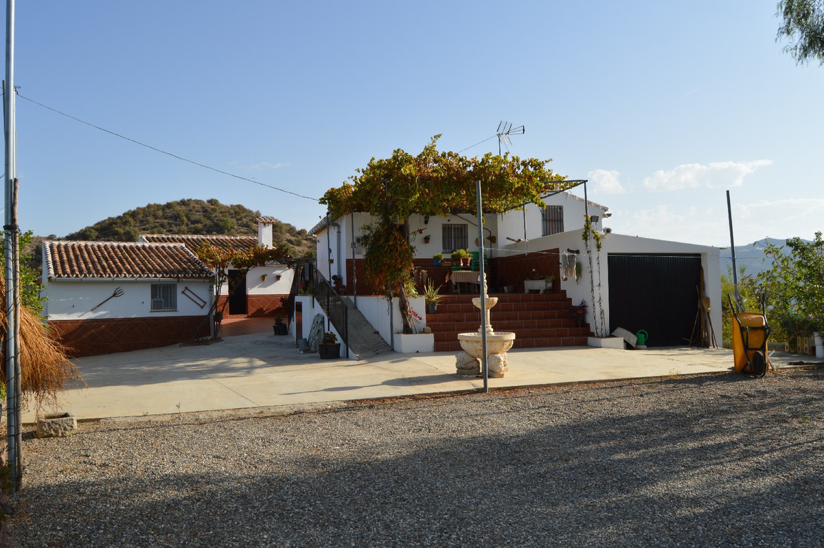 "Two well-built houses near Alora.  In the mountainous area of ""Las Cruces"" near the Andalu, Spain"