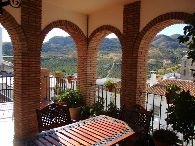 Fully refurbished traditional village house enjoying a splendid elevated location in the historic ce, Spain
