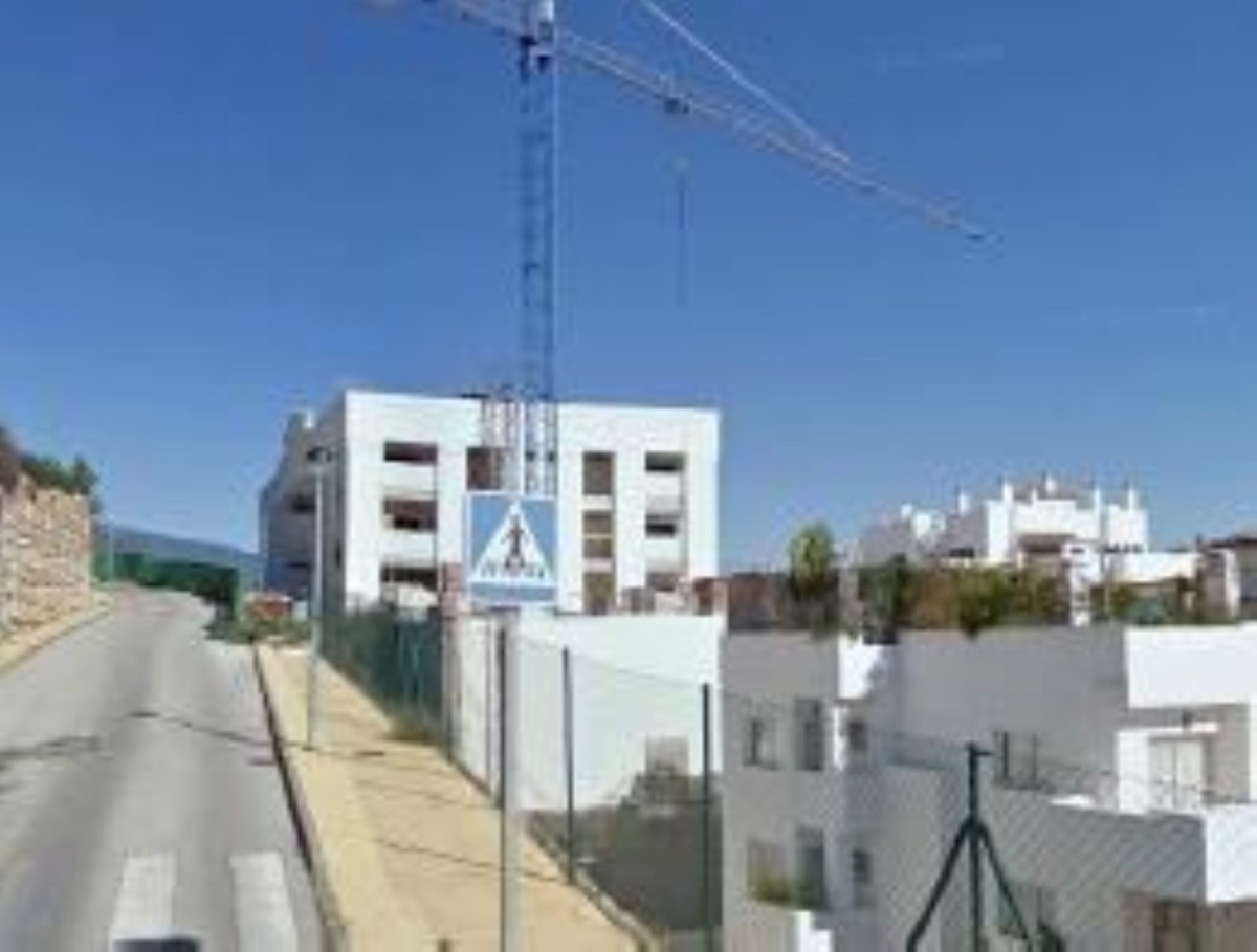 Plot with hotel construction under construction in a percentage of execution of 64% located in Estep,Spain