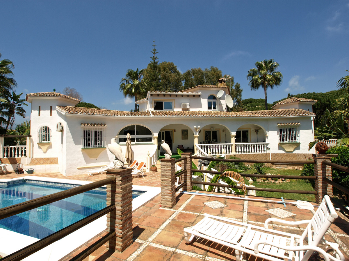 Wonderful south facing detached villa situated on a very quite and peaceful road which is located wi,Spain