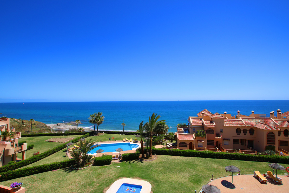fantastic views Renovated bathrooms  front line beach complex private covered parking  2 swimming po,Spain