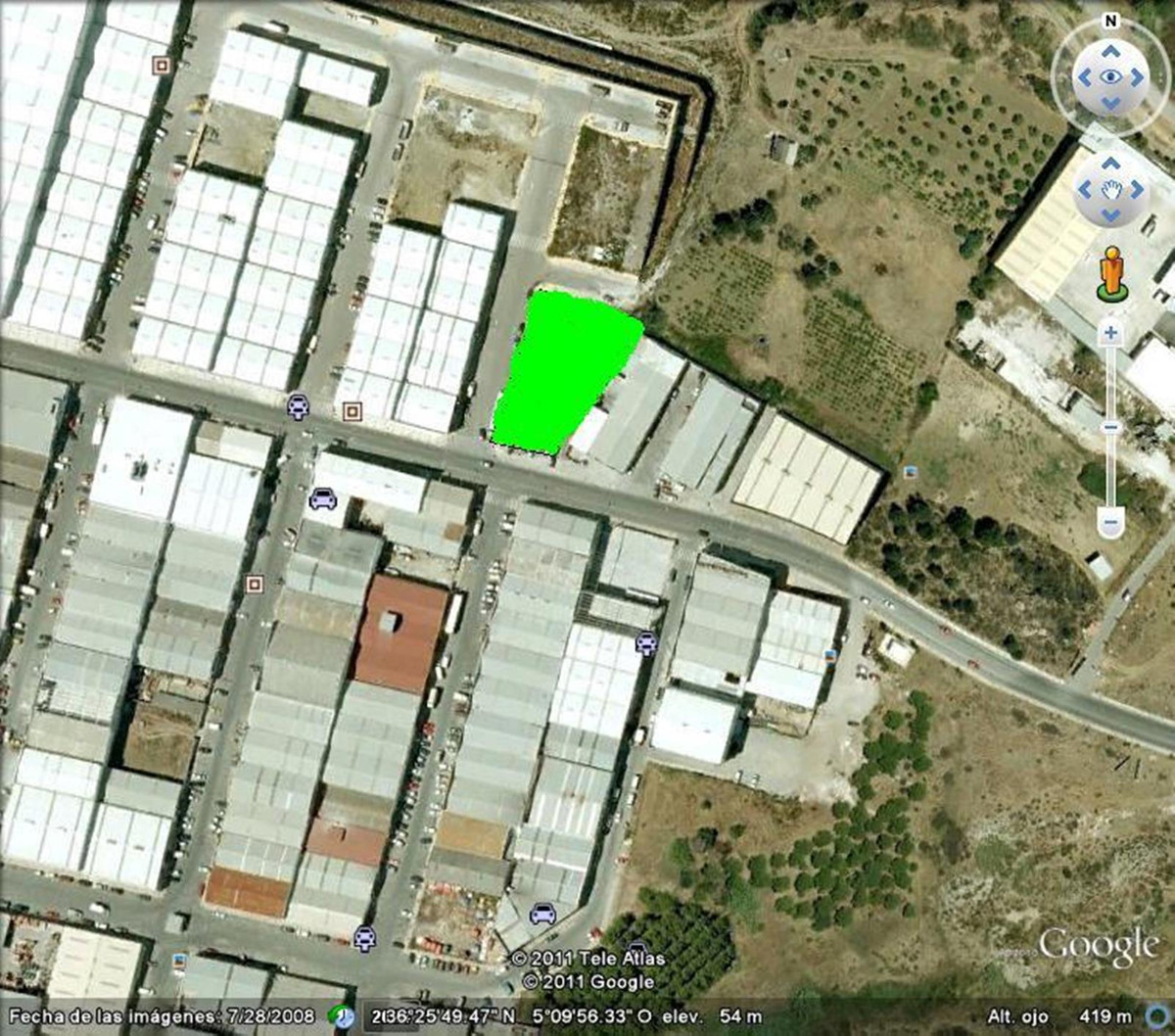 Investment to purchase a top location plot of land on the poligono of Estepona. This plot of land is,Spain