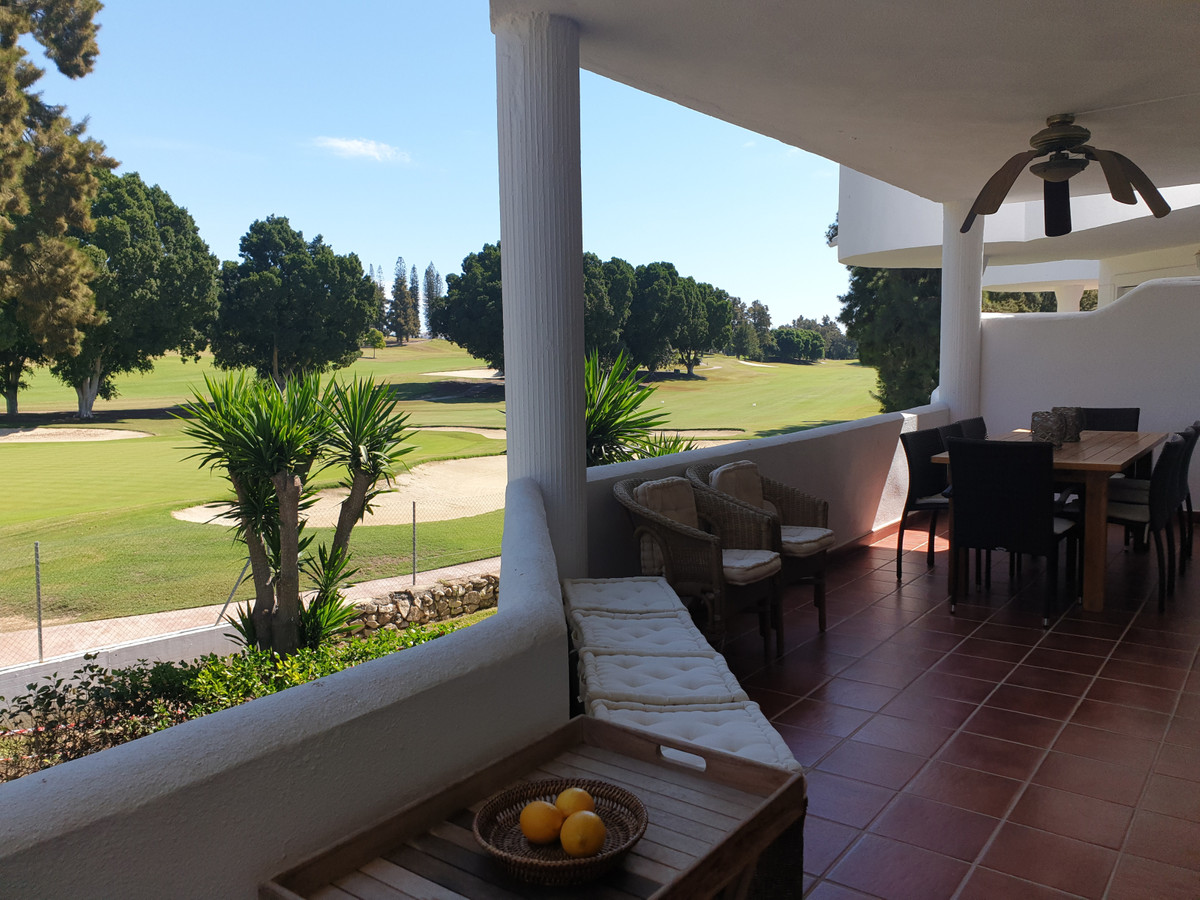 This stunning 3-bedroom apartment lays first line golf at the amazing 18-hole golf course of Mijas G Spain