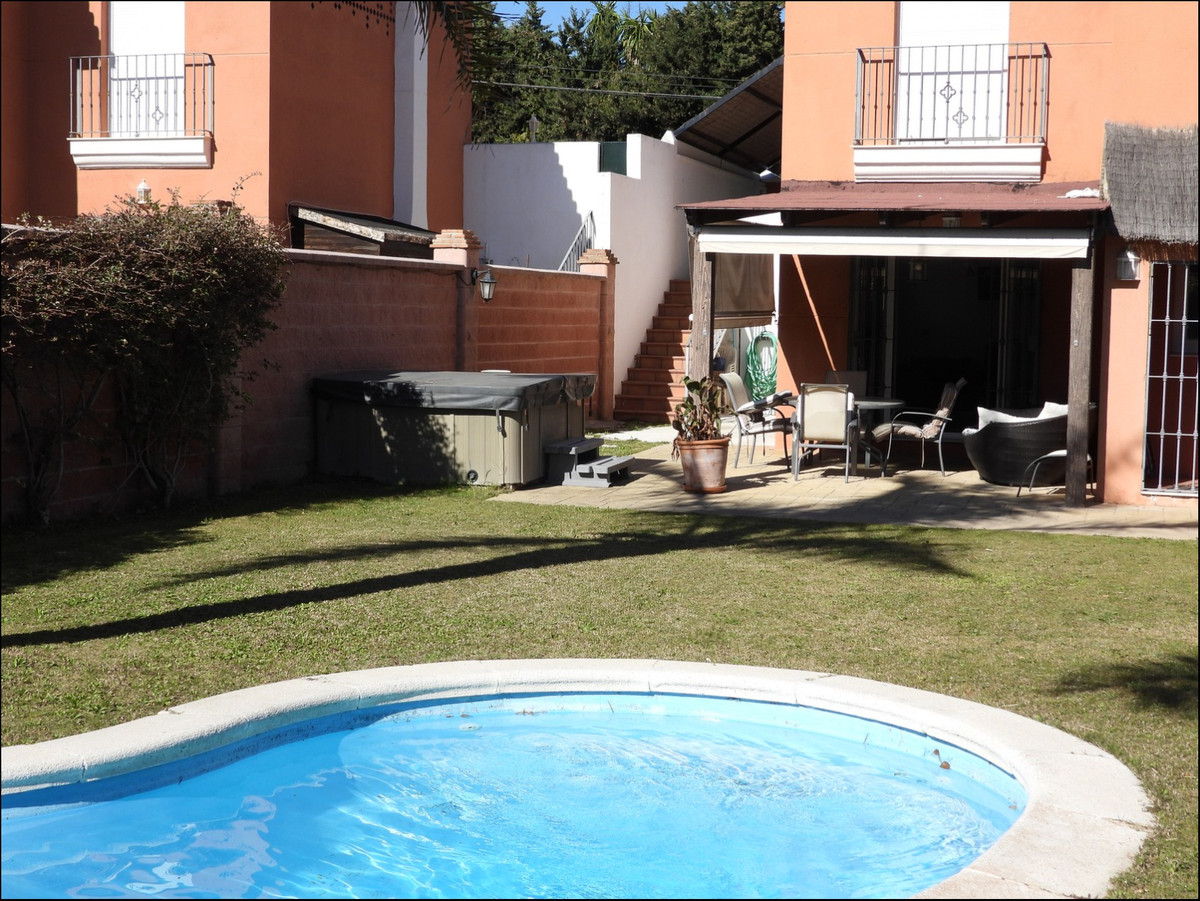 Semi-independent townhouse with private pool and Jacuzzi in between Estepona and Casares now availab, Spain
