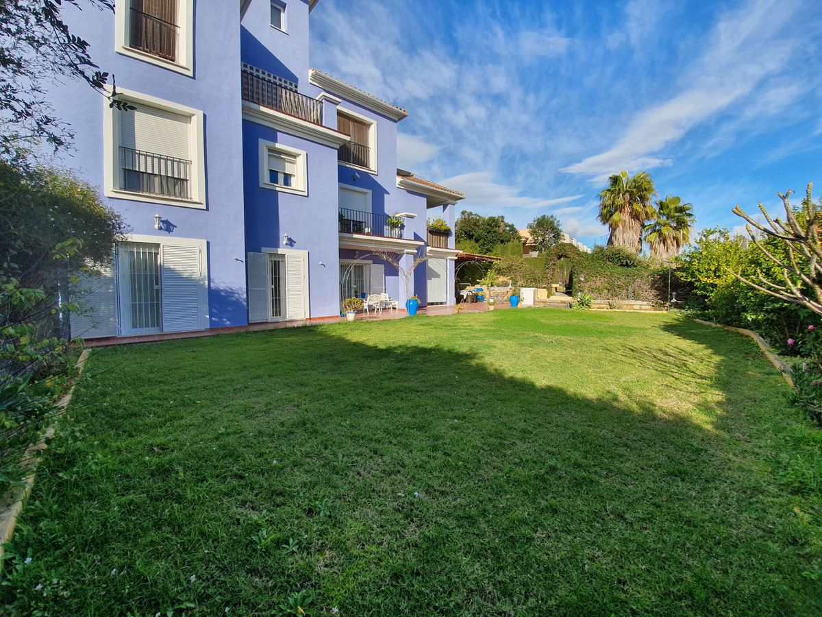 Stunning ground floor apartment in Sotogrande Sotovila. Very large property with a very spacious pri,Spain