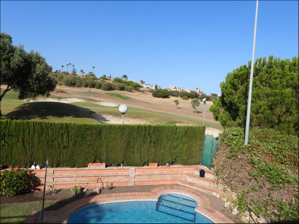 Beautiful and fantastic family semi detached home first line Golf Course Du Quesa. Very large, colon,Spain