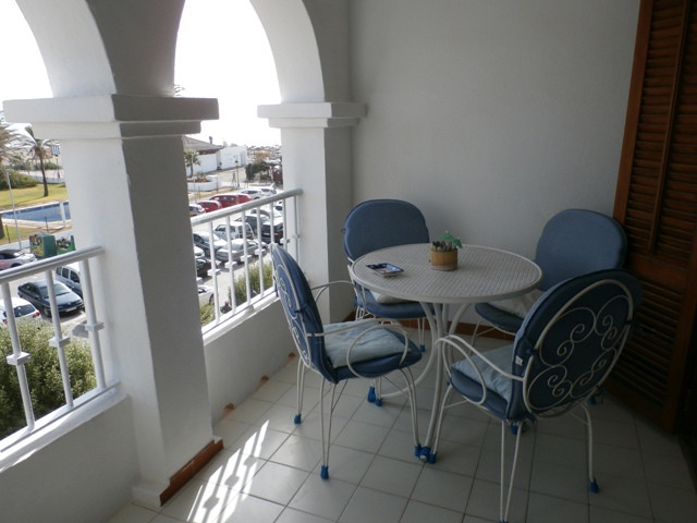 Two bed apartment in the heart of Duquesa port, with morning sun and fantastic sea views. There is a, Spain