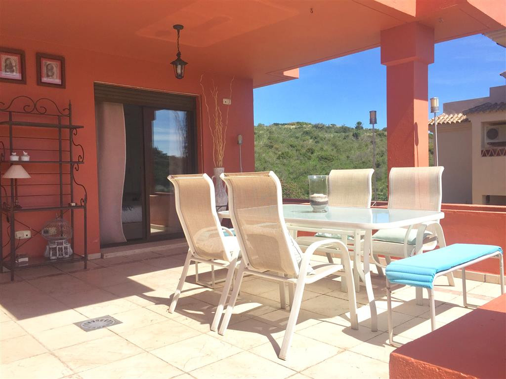 Beautiful duplex with private garden, front line of Dona Julia golf.   It has 4 bedrooms and 3 bathr,Spain