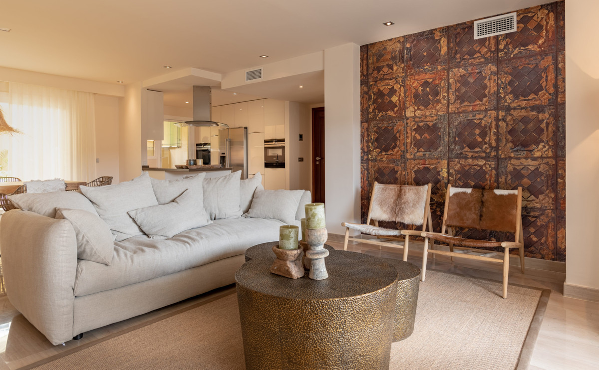 This large new luxury 3 bedroom apartment has a private garden plus a terrace with panoramic views t,Spain