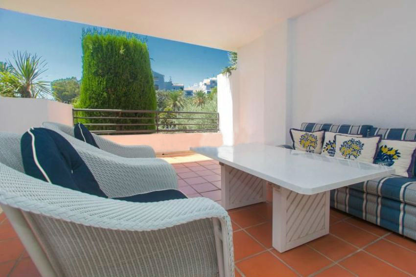 Modern and comfortable apartment in Puerto Banus. The property has an area of 100 sqm, 2 bedrooms an, Spain