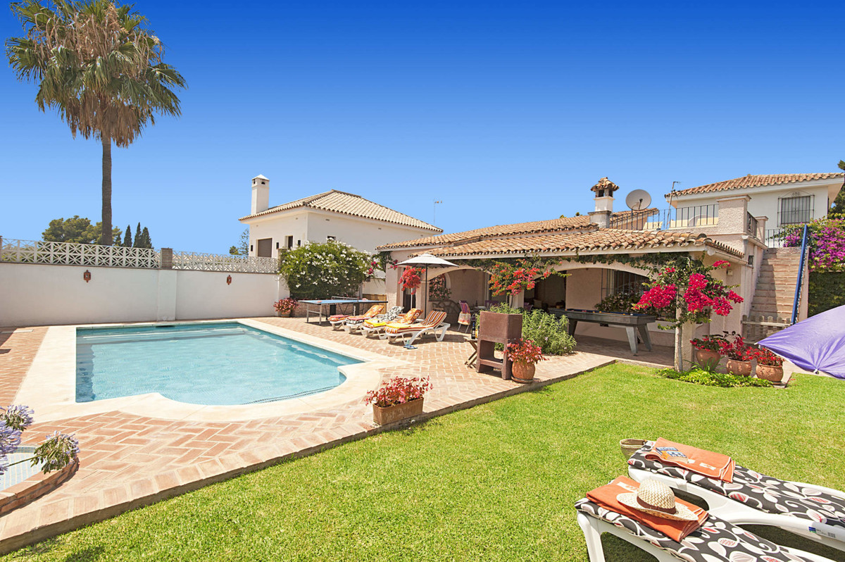 Delightful single storey Andalucian villa situated on the beachside of San Pedro Alcantara, with 3 b, Spain