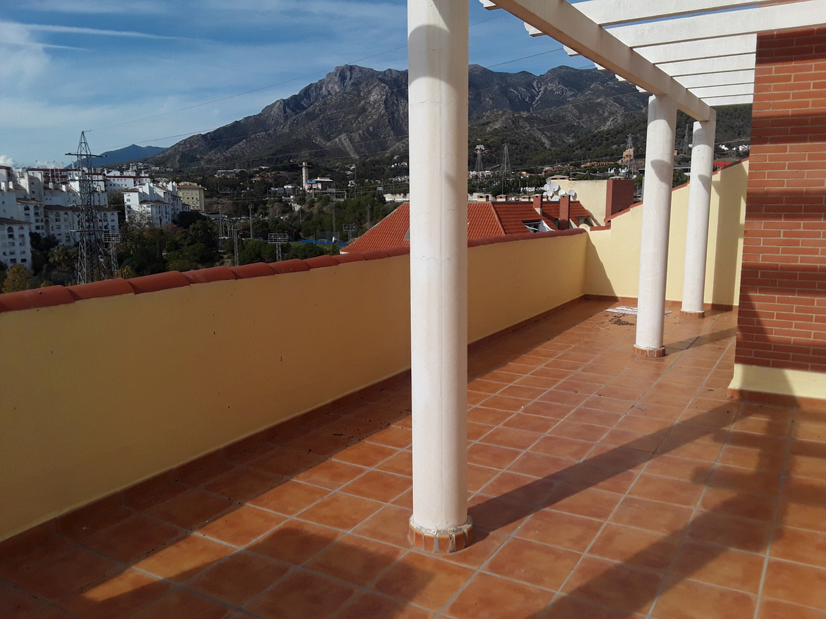 Duplex penthouse located in the center of Marbella, East side. Just a walk from the beach, surrounde, Spain