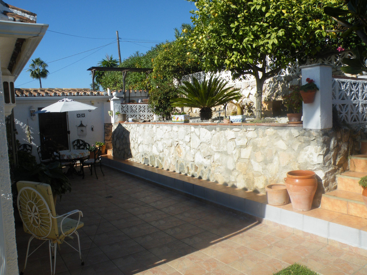 Charming Semi-Detached Villa situated on a small and ever popular community of Calypso, Mijas Costa ,Spain