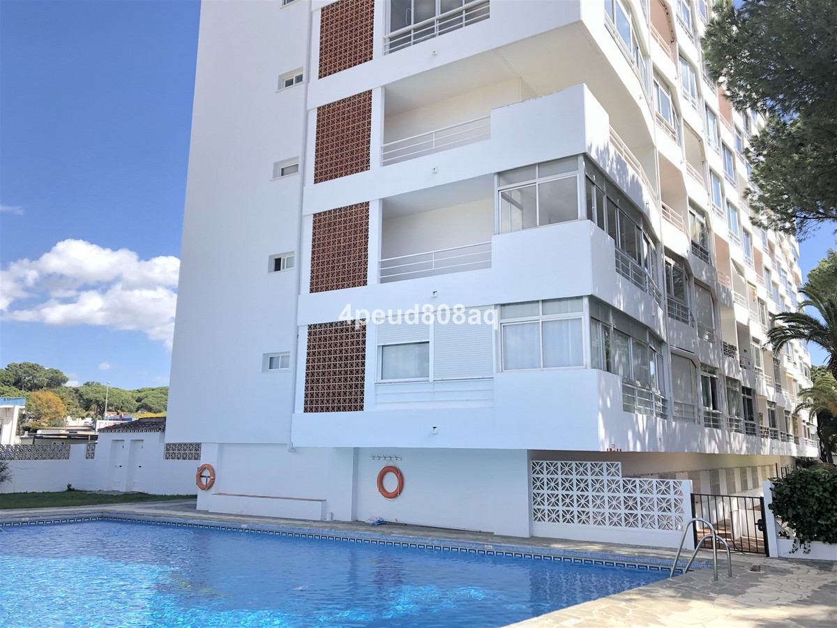 South facing furnished studio apartment set within a beachside development with communal pool, garde, Spain