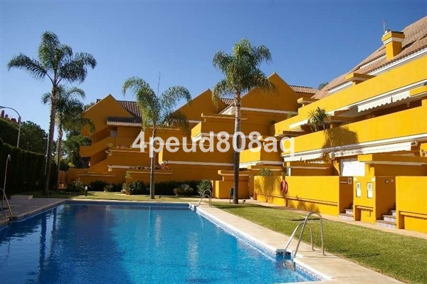 South facing fully furnished beachside ground floor apartment located within Marbella Park Beach, a , Spain