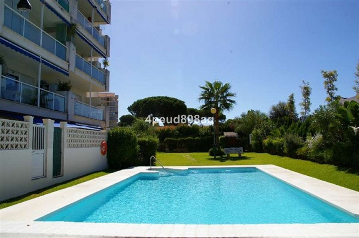 Northeast facing 1st floor beachside fully furnished studio apartment located within building Nelson,Spain