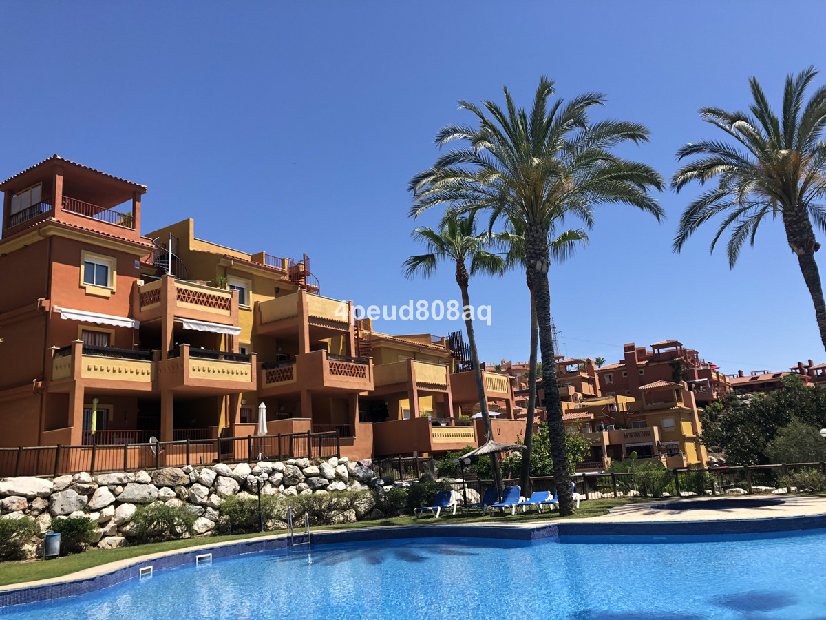 South facing fully furnished corner apartment with sea views located within La Reserva de Marbella, ,Spain