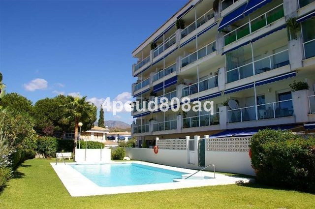Fully furnished beachside ground floor studio apartment which has been renovated incorporating a bed, Spain
