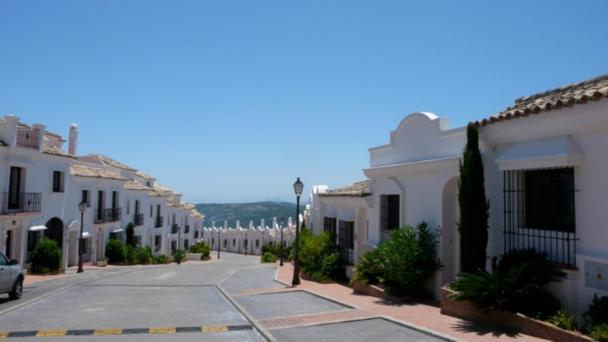 Vasari Pueblo Andaluz is a beautiful urbanization at the entrance of Casares with views of the sea, ,Spain
