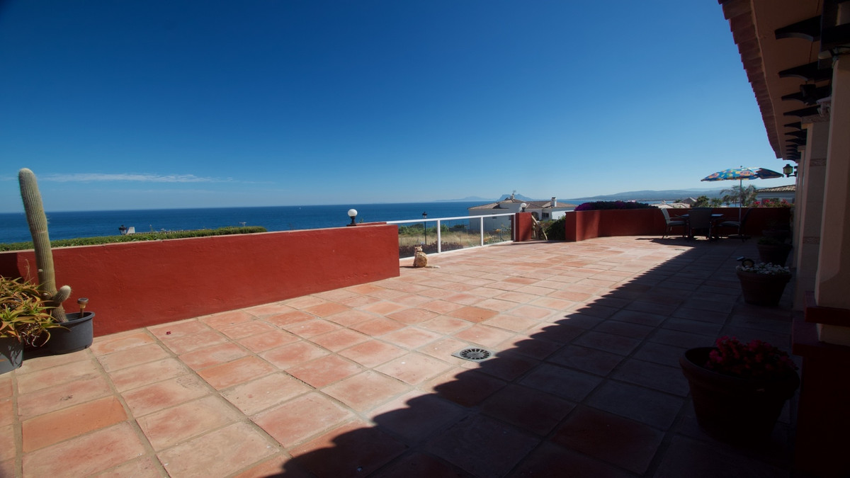 Villa in Punta Chullera Manilva with spectacular sea views Upon entering the villa there is a car pa Spain