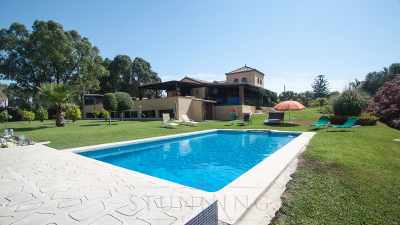 Beautiful Andalusian Cortijo in Estepona located 5 minutes from the beach, and the Laguna Village sh,Spain
