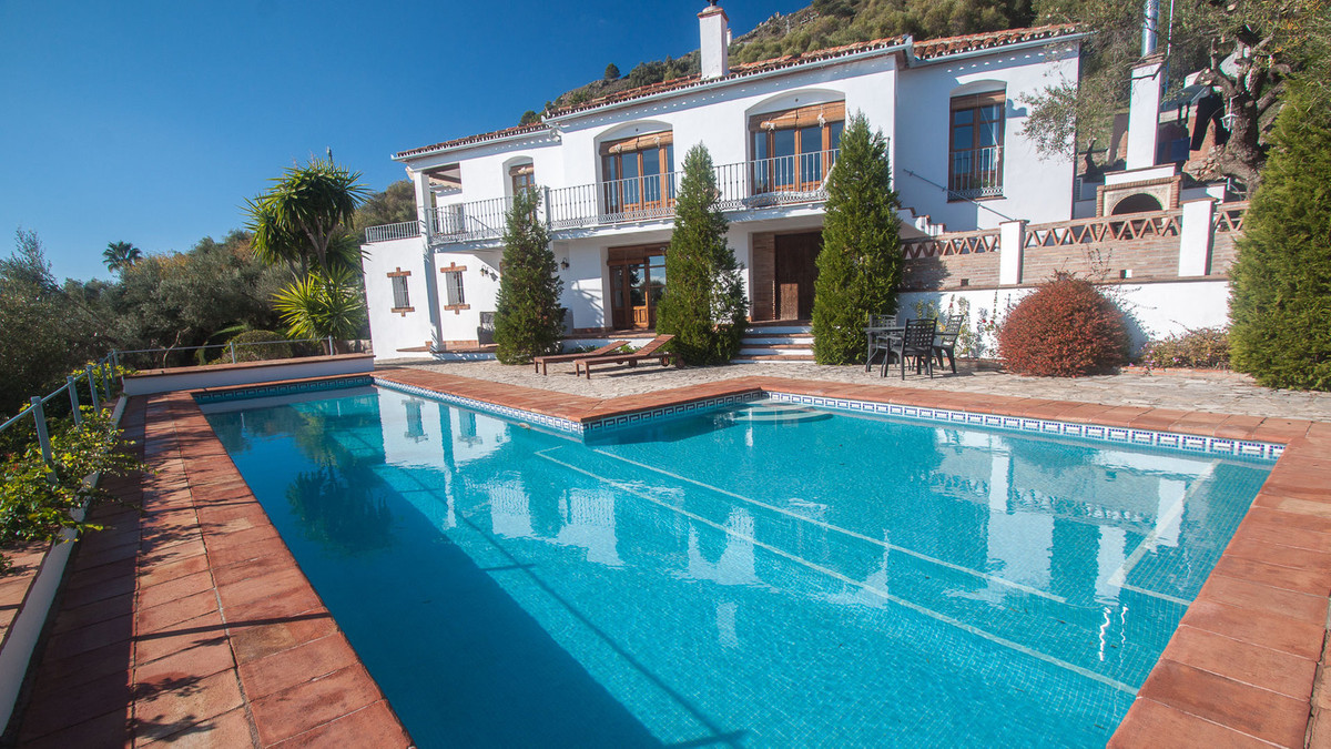 A well appointed country property with an uninterrupted spectacular views to the mediterranean sea, ,Spain