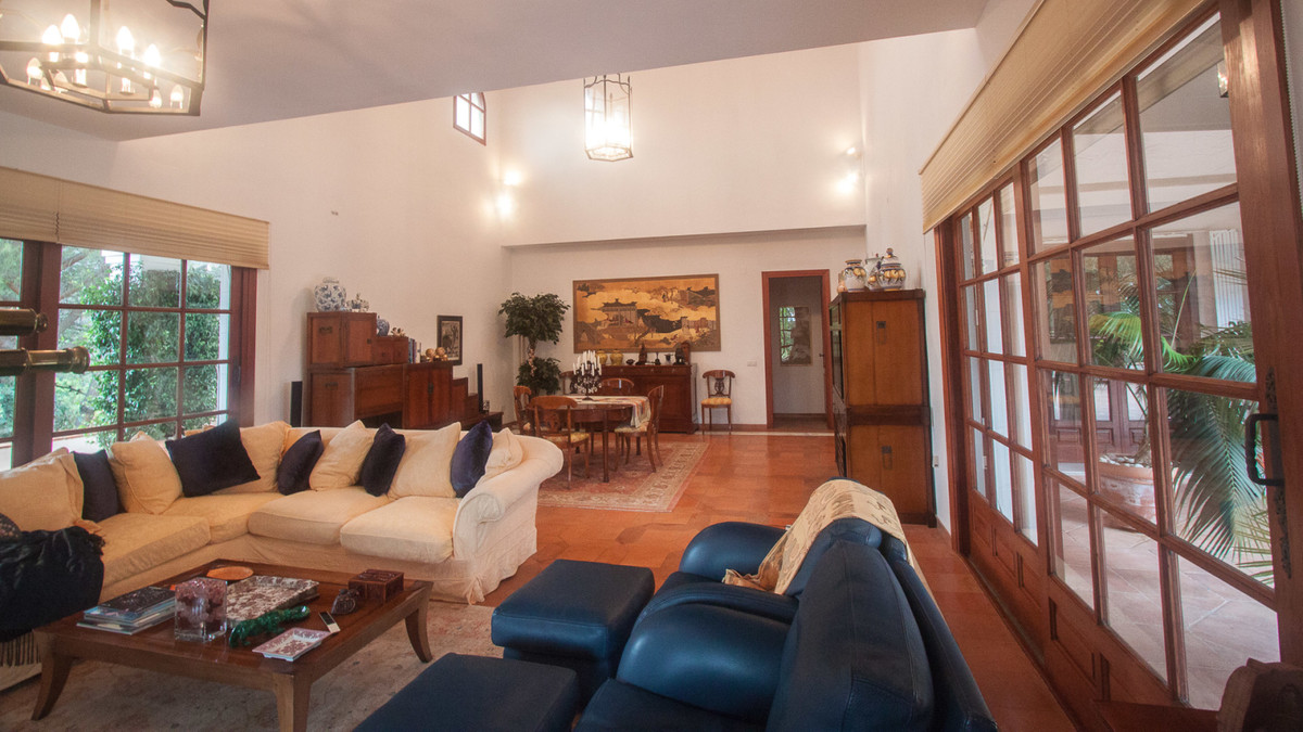 Wonderful finca in Estepona very private, with spectacular sea and mountain views The house was cons,Spain