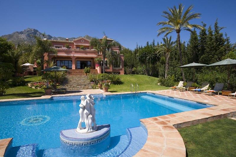 Villa for Holiday Rent in Sierra Blanca