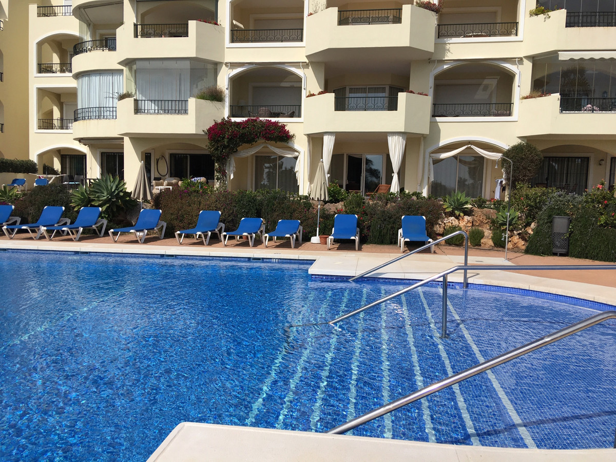 South facing spacious apartment with sea views in Hacienda Playa. It´s a quiet, gated community of o, Spain