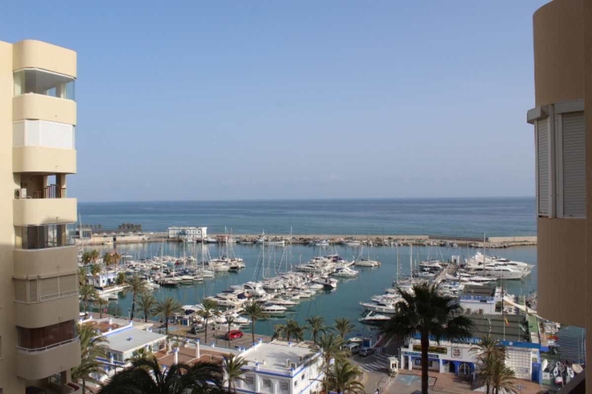 Super large two bedroom and two bathroom completely reformed apartment for sale in Estepona. Because, Spain
