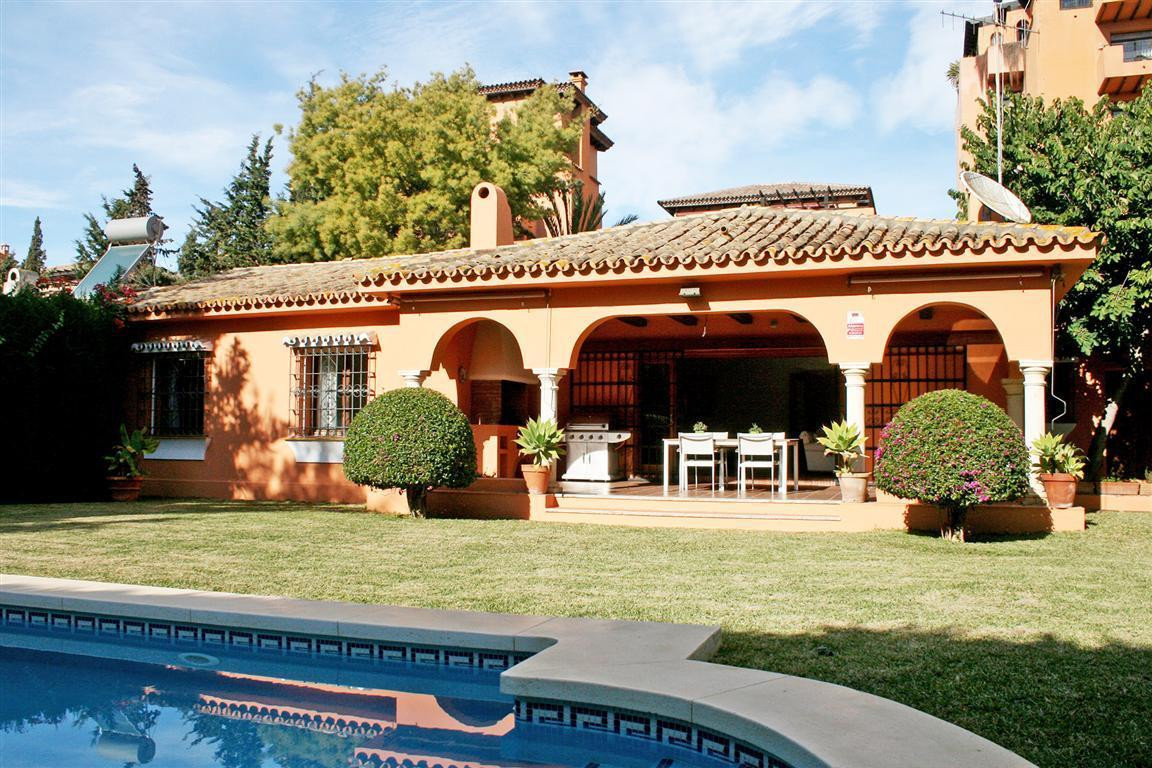 Family home for sale in the popular beach side location in east Estepona, in good condition and a fa,Spain
