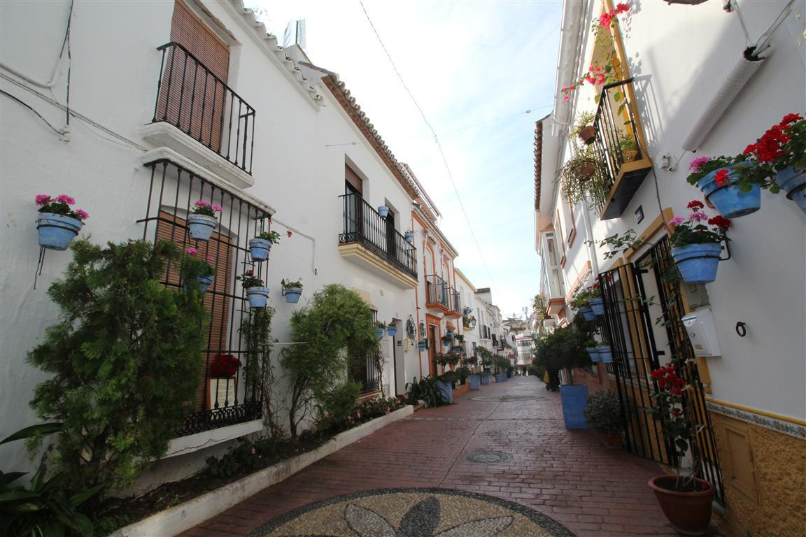 This charming quaint typical Andalucian house is located in the heart of Estepona town centre, on a ,Spain