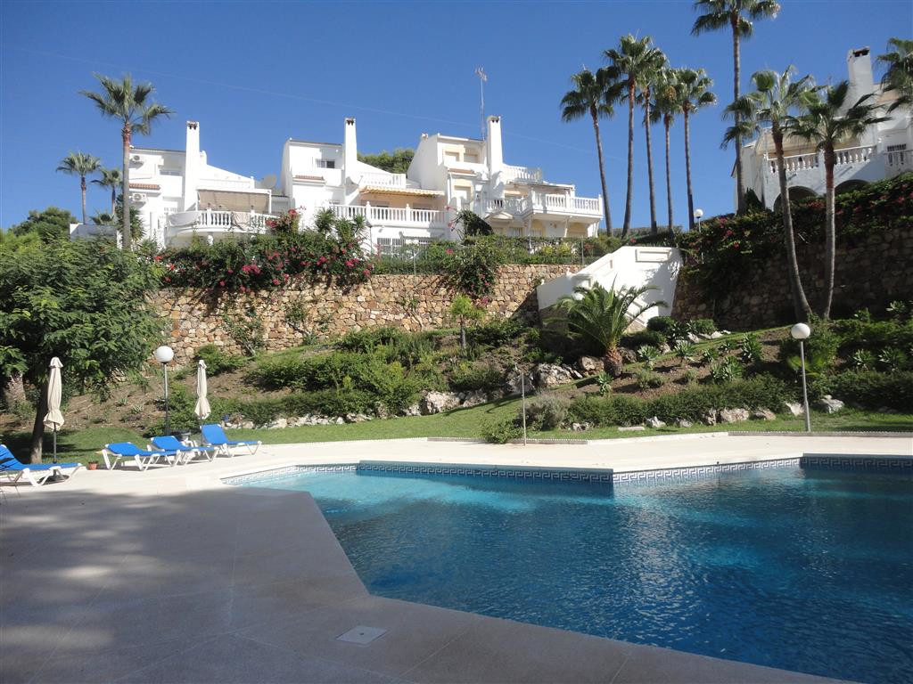 Extraordinary south facing townhouse with panoramic sea views and a lovely open space aspect. The ho, Spain