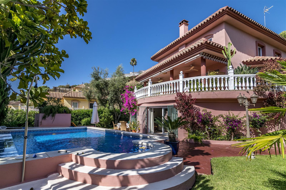This charming south-east oriented villa with excellent panoramic views to the sea is located in the ,Spain
