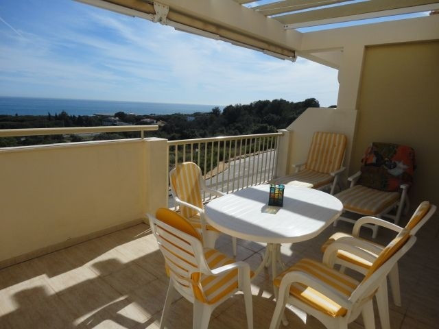 Third floor penthouse with spectacular panoramic sea views, consists of 1 bedroom, 1 bathroom, south, Spain