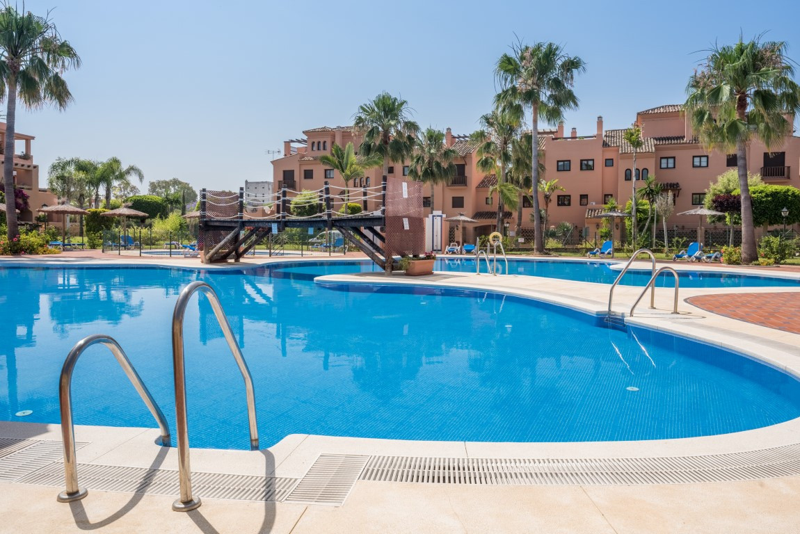 A 3 bedroom ground floor apartment located in the popular beachside holiday home development of Haci, Spain