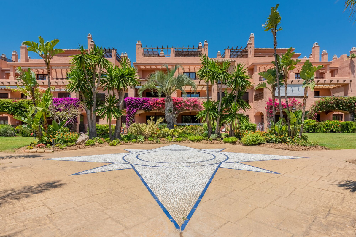 A very smart spacious 2 bedroom ground floor apartment well located in a quiet area of the beachside,Spain