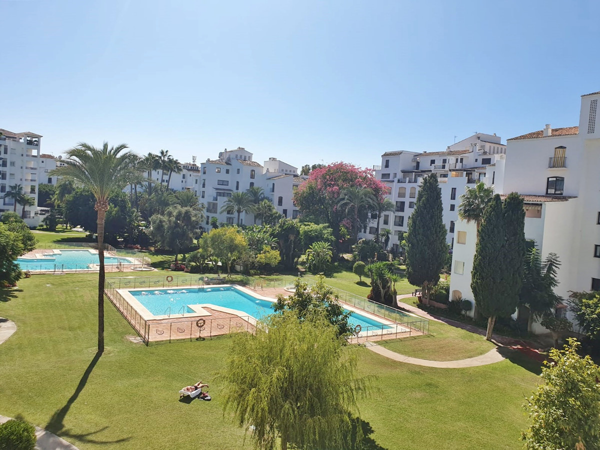 Apartment for sale in private residential complex that has security and 24-hour reception, large gar, Spain