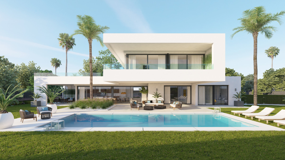 Brand new project of modern villas built in Nueva Andalucia in a gated community, very close to Los ,Spain